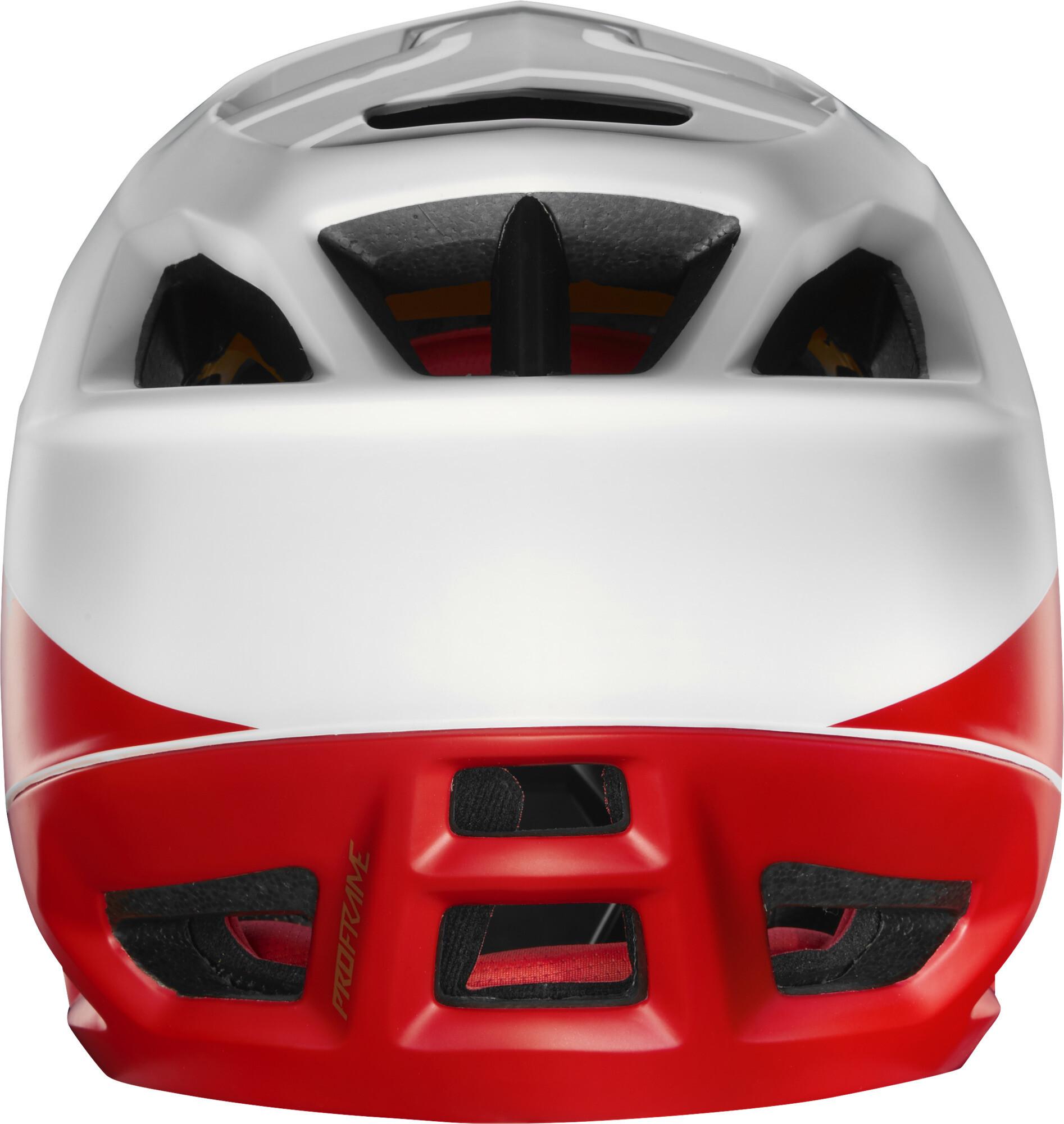 0895e1030a9d8 Fox Proframe Pistol - Casco de bicicleta Hombre - rojo blanco ...